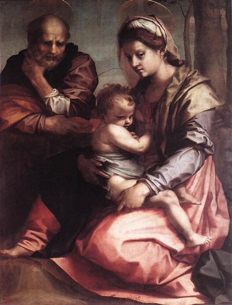Holy Family (Barberini), c.1528 - Andrea del Sarto