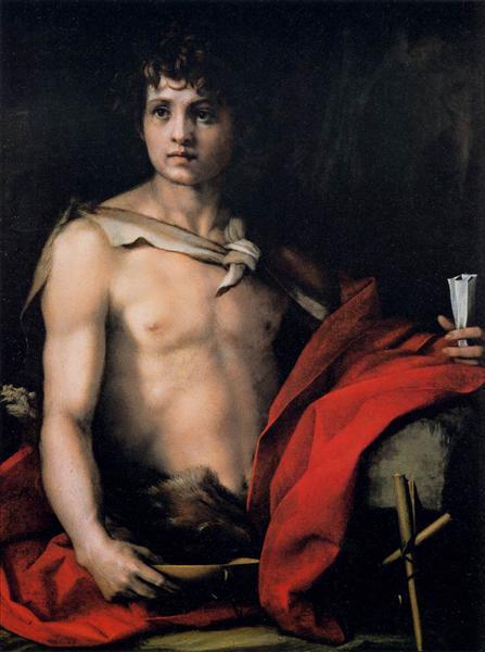 St. John the Baptist, c.1523 - Andrea del Sarto