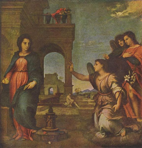 The Annunciation, 1512 - 1513 - Andrea del Sarto