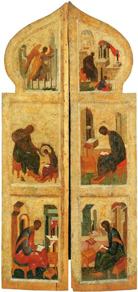 Holy gates, 1425 - 1427 - Andrei Rublev
