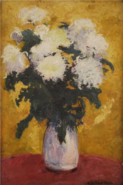 Crisantemos, 1917 - Andres de Santa Maria