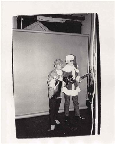 Andy and Truman Capote - Andy Warhol