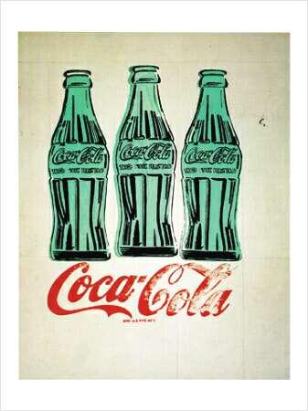 3 Coke Bottles, 1962 - Andy Warhol