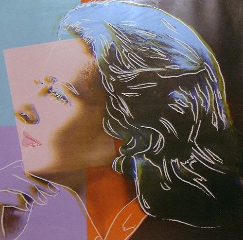 Ingrid Bergman (as Herself), 1983 - Andy Warhol