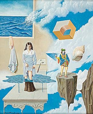 Pintura surrealista, 1976 - Àngel Planells i Cruañas