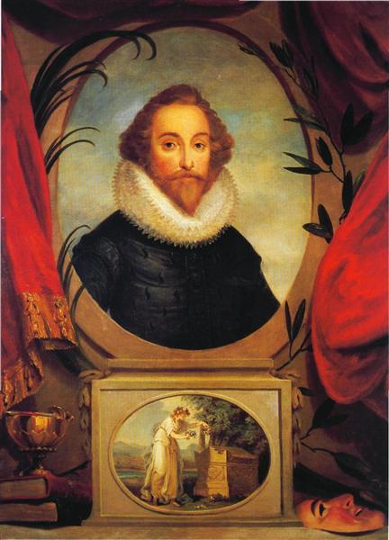 Ideal portrait of Shakespeare, c.1775 - Angelica Kauffman