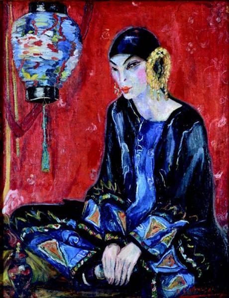 A Chinesa, 1922 - Anita Malfatti