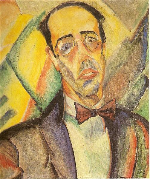 Mario de Andrade I, 1922 - Anita Malfatti