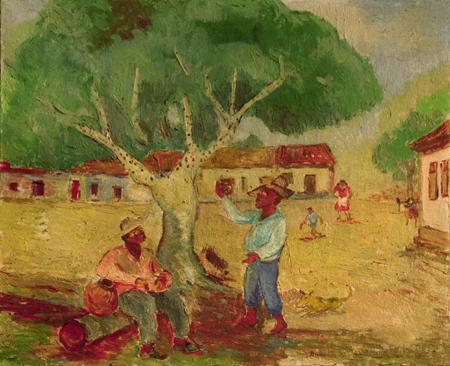 Pé de jabuticaba - Anita Malfatti