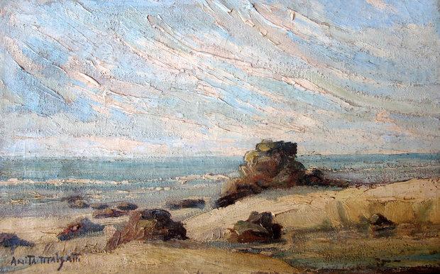Pedras na praia - Anita Malfatti
