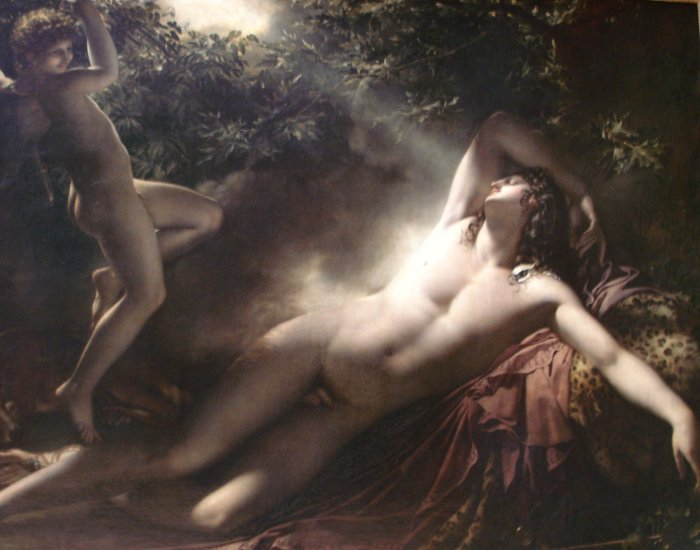 The Sleep of Endymion - Anne-Louis Girodet-Trioson