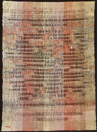 Development in Rose II, 1952 - Anni Albers