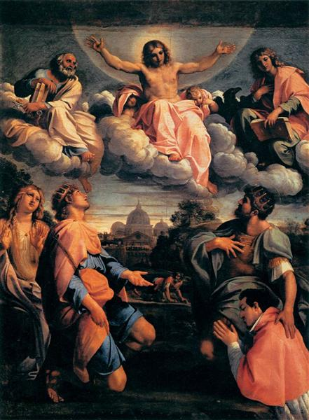 Christ in Glory, 1597 - 1598 - Annibale Carracci