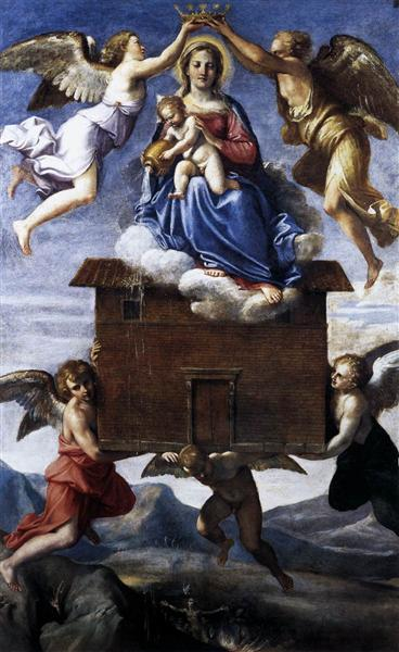 Translation of the Holy House, c.1605 - Annibale Carracci