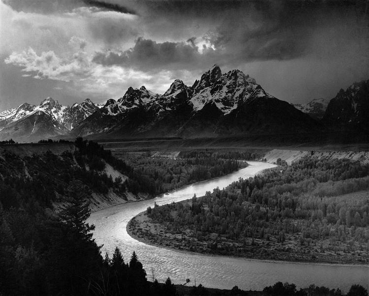 The Tetons and the Snake River - Ansel Adams