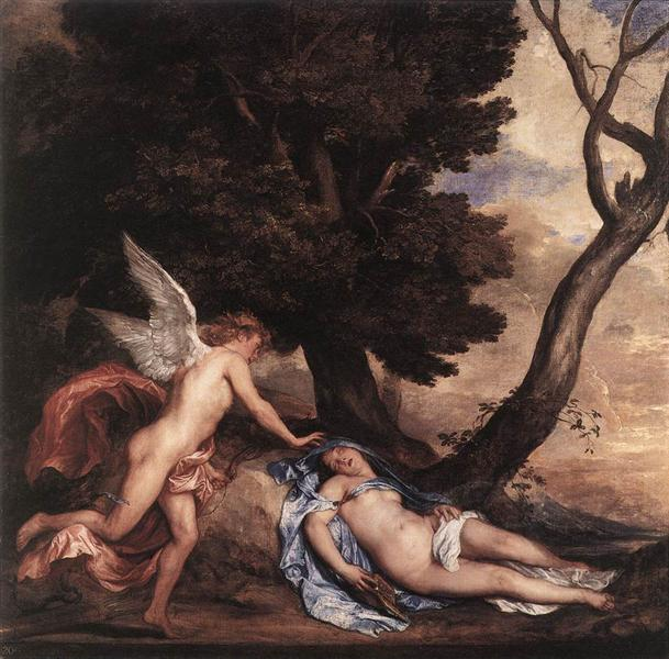 Cupid and Psyche, 1639 - 1640 - 范戴克