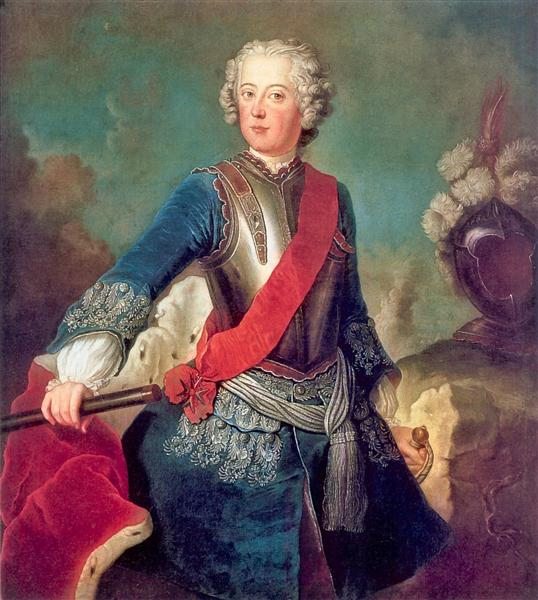 Frederick the Great, 1736 - Antoine Pesne