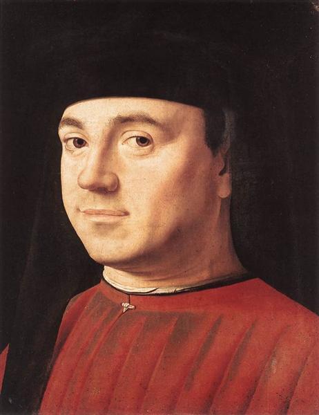 Portrait of a Man, c.1475 - Antonello da Messina