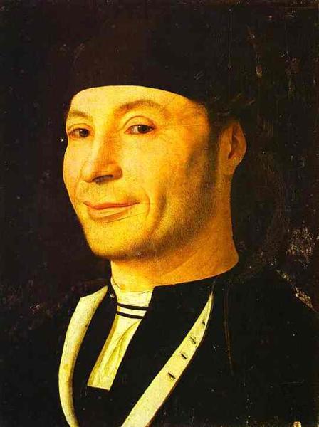 Retrato de um Homem Desconhecido, c.1465 - c.1470 - Antonello da Messina