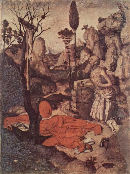 St. Jerome Penitent, c.1455 - Antonello da Messina