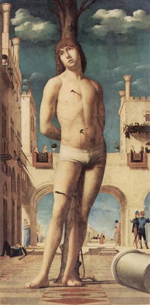 St. Sebastian, 1476 - 1477 - Antonello da Messina