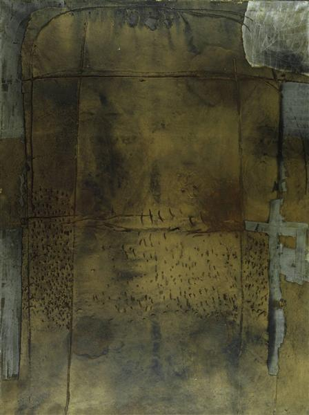 Grey Ochre - Antoni Tapies