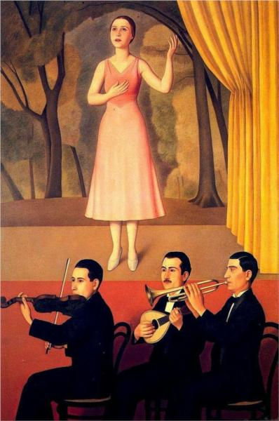 Canzone, 1934 - Antonio Donghi
