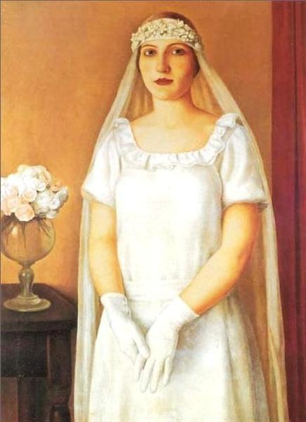 The Bride, 1926 - Antonio Donghi