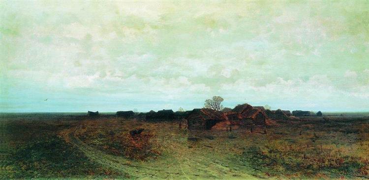 Forgotten Village, 1874 - Arkhip Kuindzhi