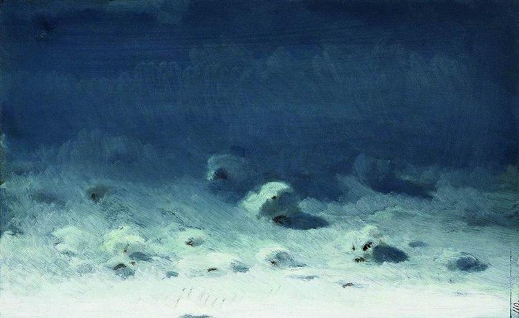 Moonlight Night. Winter - Arkhip Kuindzhi