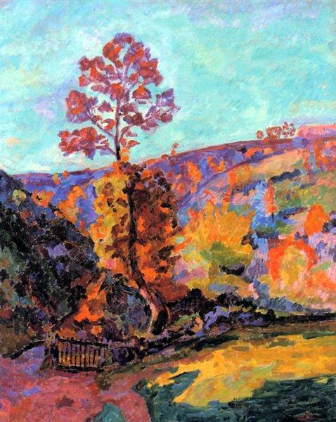 Paysage à Crozant, 1917 - Armand Guillaumin