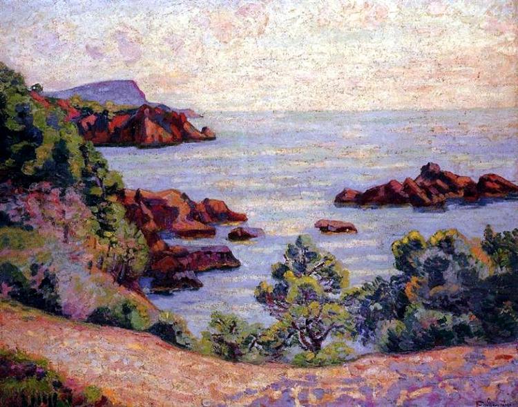 Paysage du Midi, 1905 - Armand Guillaumin
