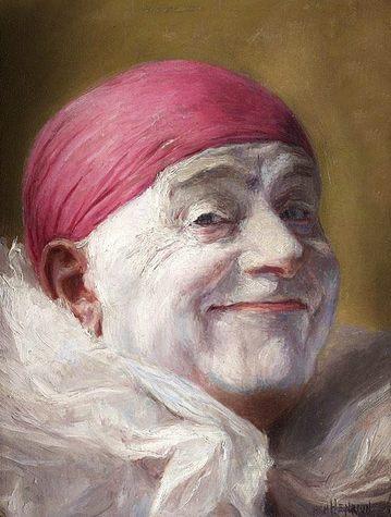 Self-portrait - Armand Henrion