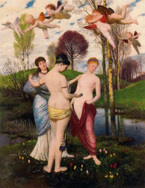 Hymn to spring - Arnold Böcklin