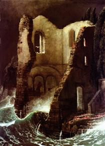 The Chapel - Arnold Böcklin