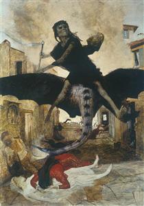 The Plague - Arnold Böcklin