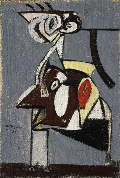 Child of an Idumean Night (Composition No. 4), 1936 - Arshile Gorky