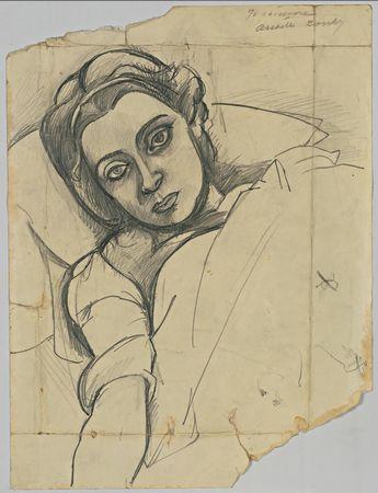 Leonora Portnoff, 1935 - Arshile Gorky