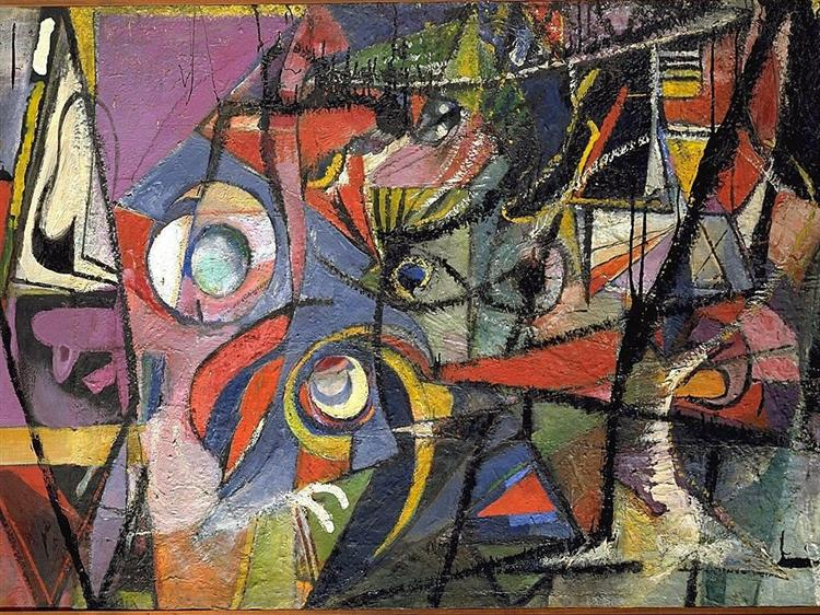 Abstraction, 1941 - Arthur Beecher Carles