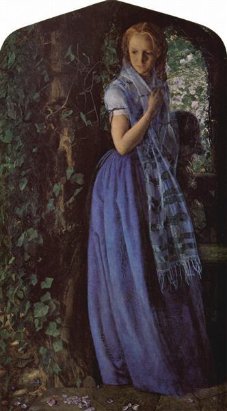 April Love, 1856 - Arthur Hughes