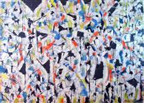 Untitled Landscape, Woodstock (No.3876) - Arthur Pinajian
