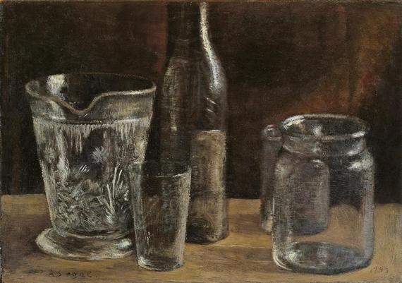 Stilleben mit Gläsern, 1943 - Arthur Segal