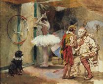 Escenas del circo - Arturo Michelena