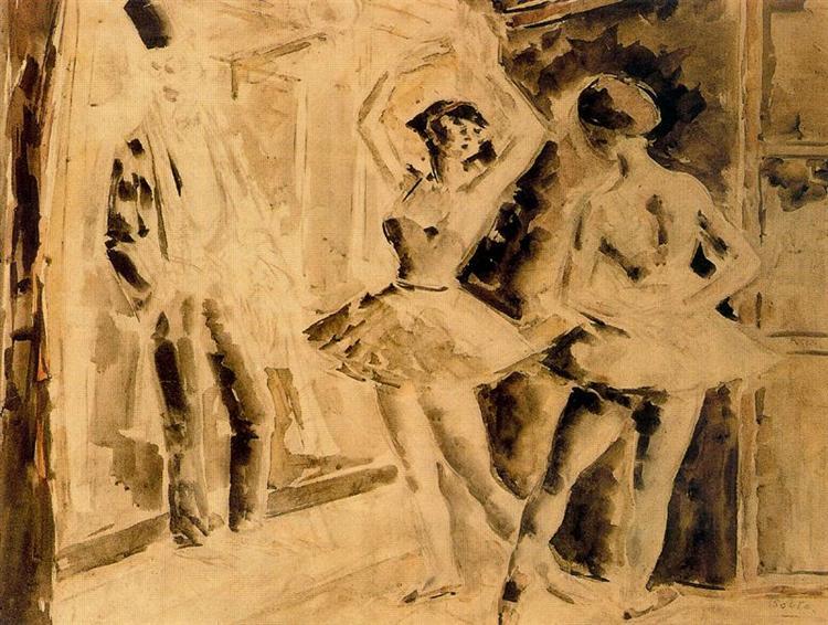 Dance Class, 1932 - Arturo Souto