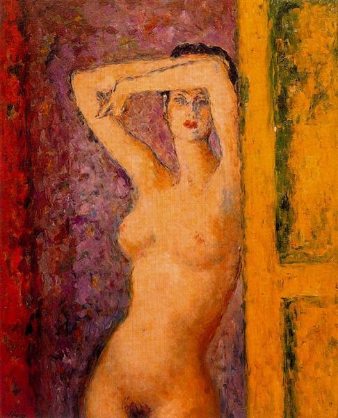 Female nude - Souto Arturo