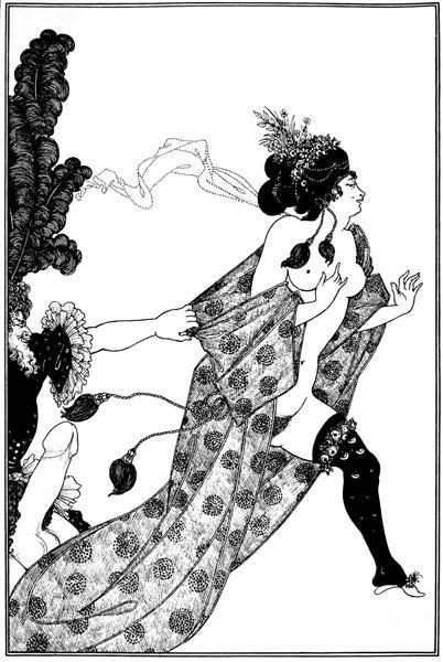 Cinesias Entreating Myrrhina to Coition, 1896 - Aubrey Beardsley