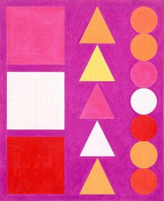 Di Mache 1, 1950 - Auguste Herbin