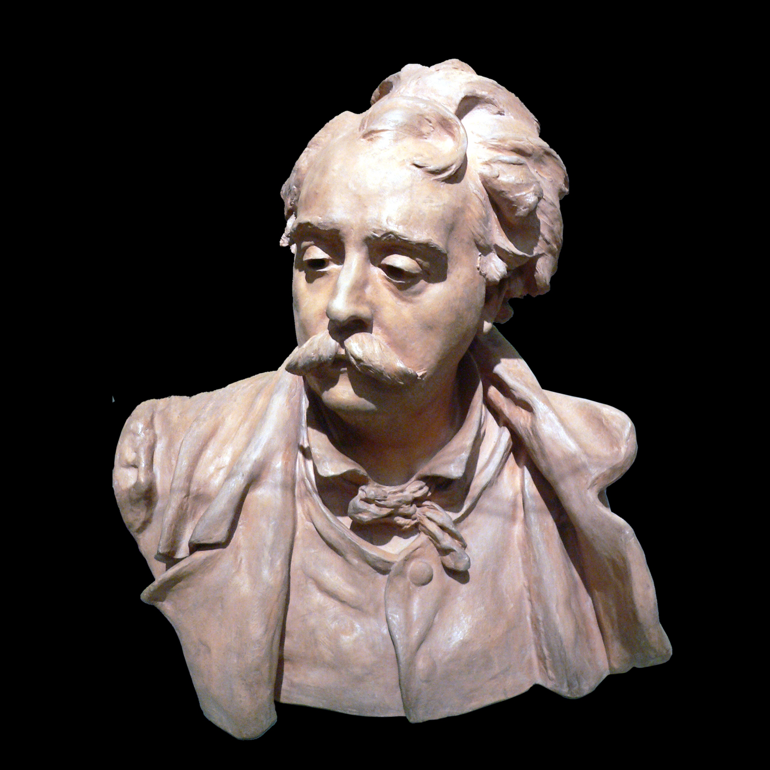 Bust of Albert Ernest Carrier Belleuse, 1882