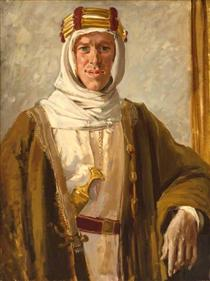 Colonel T. E. Lawrence - Огастес Эдвін Джон