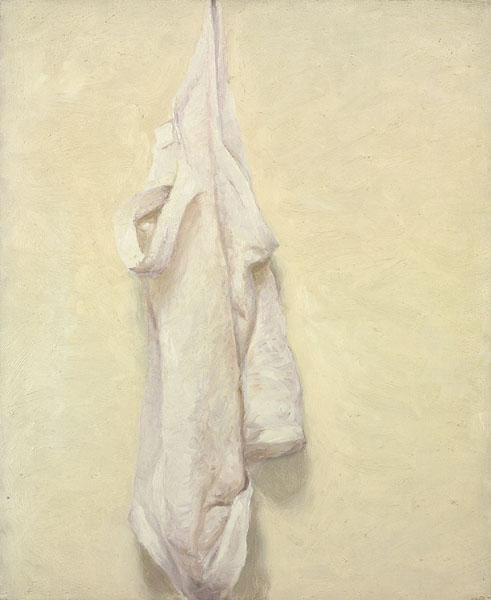 Hanging Undershirt, 1977 - Avigdor Arikha